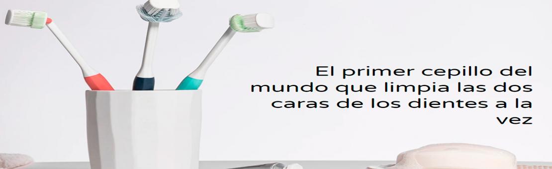 BALENE Cepillo Dental de Doble Cara